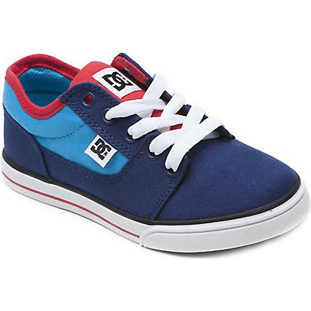 DC Unisex lace trainer 6-12 years (Blue