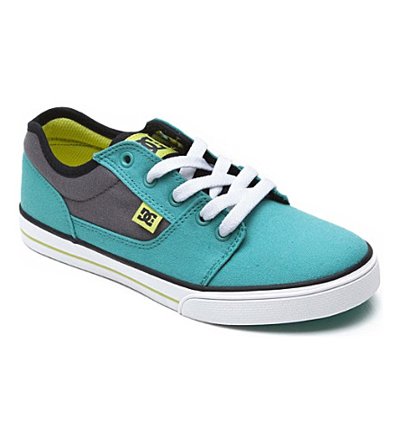 STEP2WO Unisex lace trainer 6-12 years (Turquoise