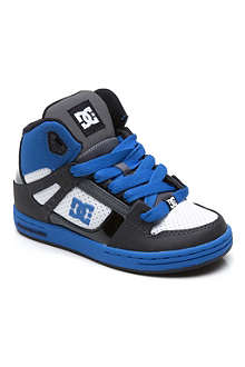 DC Rebound hi-top trainers 5-12 years
