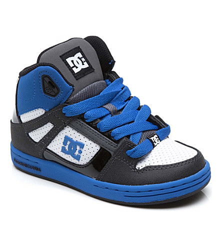 STEP2WO Rebound hi-top trainers 5-12 years (Blue