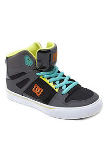 STEP2WO Spartan hi-top skate trainers 6-12 years