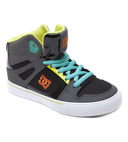 STEP2WO Spartan hi-top skate trainers 6-12 years (Grey