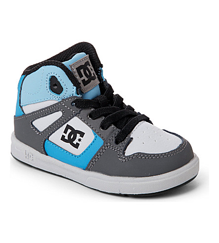 STEP2WO Rebound hi-top skate trainers 2-4 years (Blue
