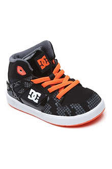 DC Spartan mid-top trainers 2-5 years