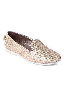 STEP2WO Stella woven leather shoes 8-11 years