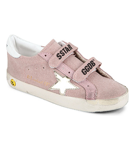 GOLDEN GOOSE Canvas trainers 3-11 years (Pink