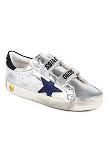 GOLDEN GOOSE Metallic unisex trainers 3-12 years