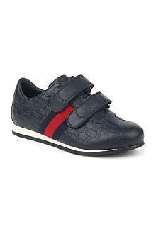 GUCCI Logo velcro trainers 5-8 years