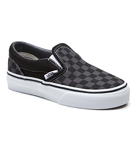 VANS Classic slip-on trainers 5-9 years (Black