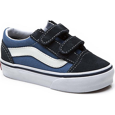 VANS Toddler old skool trainers 2-5 years (Navy