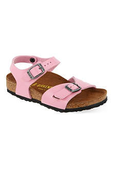 BIRKENSTOCK Roma leather sandals 4-8 years