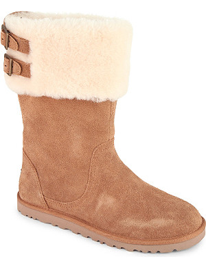 UGG Aleyah sheepskin ankle boots 7-11 years
