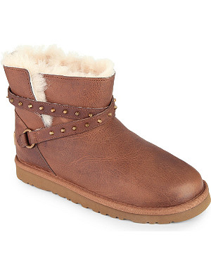 UGG Emlyn lambskin ankle boots 7-11 years