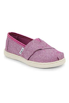 TOMS Glimmer canvas shoes 2-11 years