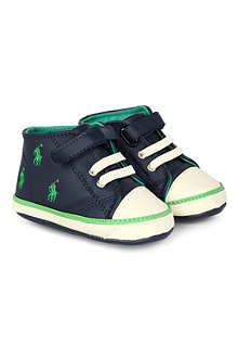 RALPH LAUREN High top trainers 6 months