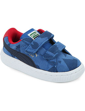 PUMA Suede camouflage trainers 2-5 years