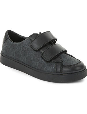 GUCCI Interlocking G leather trainers 5-8 years