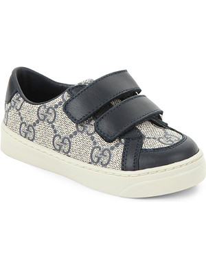 GUCCI Interlocking G leather trainers 1-4 years