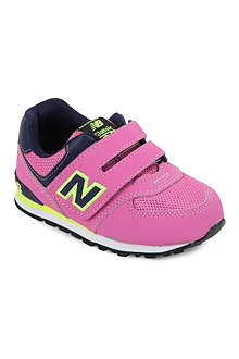 NEW BALANCE Girls velcro trainers 3-7 years
