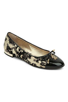 STEP2WO Leopard-patterned pumps 7-11 years