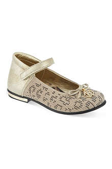 ROBERTO CAVALLI Embellished Mary Janes 2-5 years