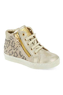 ROBERTO CAVALLI Embellished hi-top trainers 2-5 years