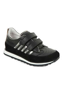 D SQUARED Boys metallic stripe trainers 7-12 years