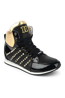 D SQUARED Studded high top trainers