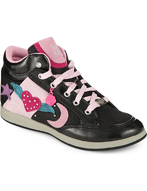 LELLI KELLY Embellished high top trainers 4-9 years
