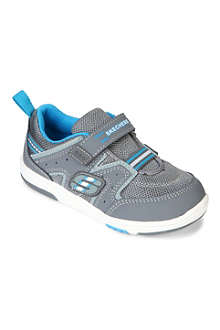 SKECHERS Cruzer leather and mesh trainers 3-5 years