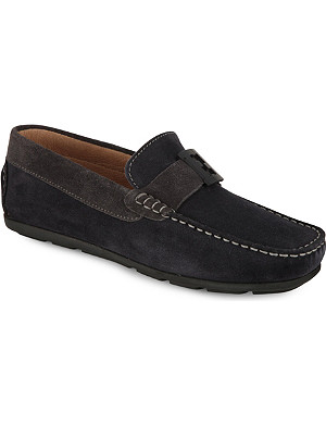 FENDI Branded suede loafers 8-10 years
