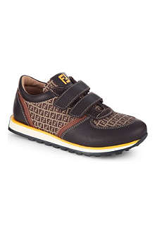 FENDI Branded leather trainers 1-4 years