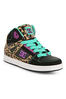 STEP2WO DC Rebound leopard-print trainers
