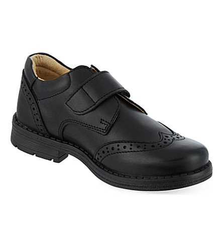 STEP2WO Adan leather shoes (Black+leather