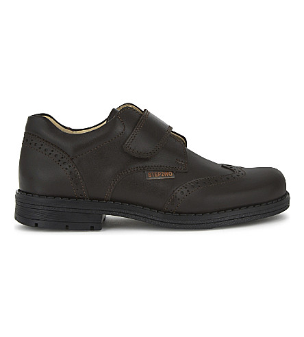 STEP2WO Adan leather brogues 4-11 years (Brown+leather