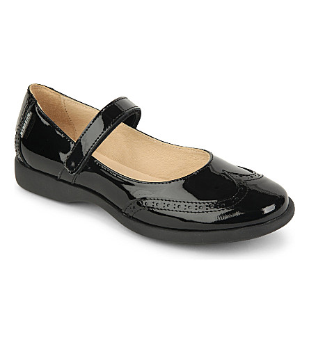 STEP2WO Olivia patent bar shoes (Black+patent
