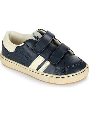 RALPH LAUREN 1967 leather trainers 2-5 years
