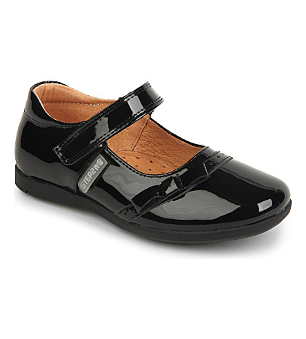 STEP2WO Hinto patent-leather shoes 4-8 years (Black+patent
