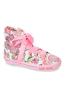LELLI KELLY Embellished canvas shoes 6-12 years