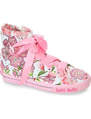 LELLI KELLY Embellished canvas shoes 6-12 years