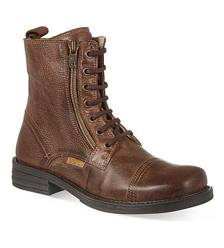 STEP2WO Mitch ankle boots (Brown+leather