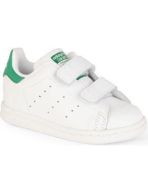ADIDAS Stan Smith velcro strapped trainers 2-8 years