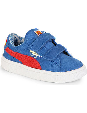 PUMA Suede superman trainers 1-7 years