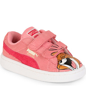 PUMA Suede Tom & Jerry trainers 2-7 years