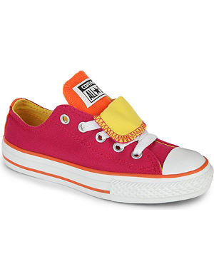 CONVERSE All Star double tongue trainers 6-11 years