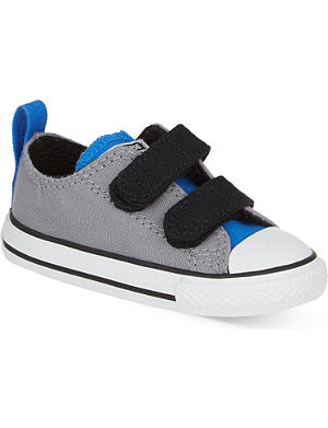 CONVERSE Velcro low-top trainers 2-5 years