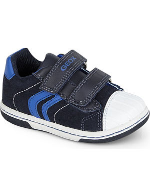 GEOX Flick leather trainers 2-4 years