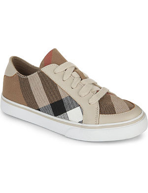 BURBERRY Lace-up trainers 6-9 years