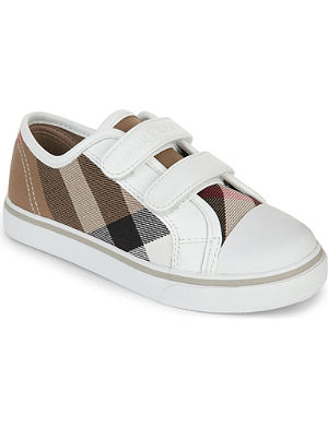 BURBERRY Checked trainers 5-9 years