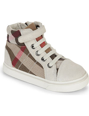 BURBERRY High-top trainers 1-5 years